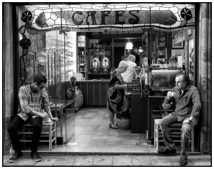 Cafe in Barcalona